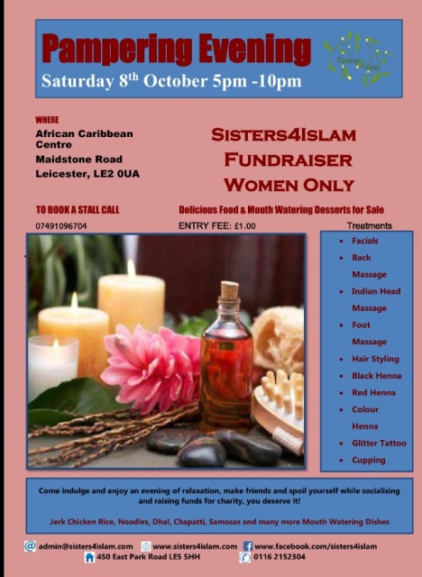 pampering-evening-sis4islam-8-oct